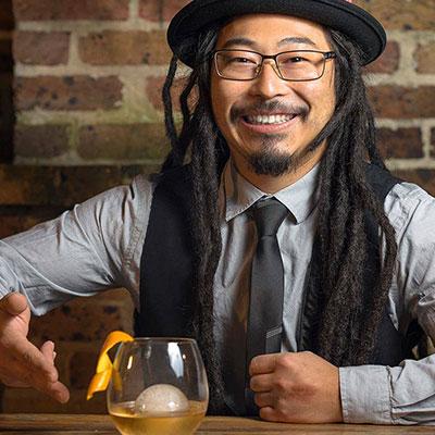 Nando Imamura - Bar manager - mixologue @ Uma Nota - Brésil