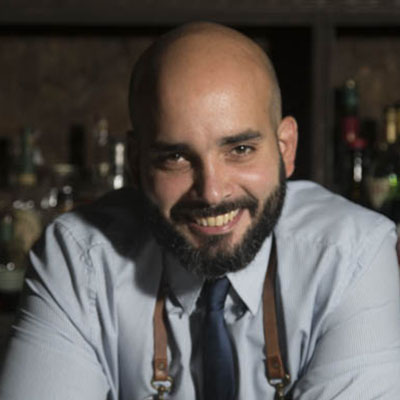 Fernando Requena - Owner of Collage Cocktail Bar and rum enthusiast -