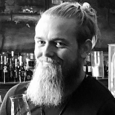 """Kristian """"The Rum Viking"""" Eskelund - Rum blogger -"""